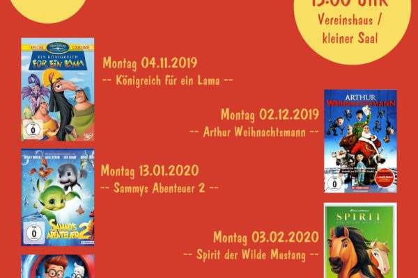 Kinderkino Leonhard 2019-20