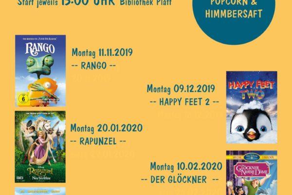 Kinderkino Platt 2019 - 20