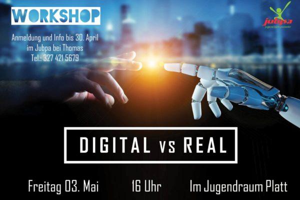 digital vs real_flyer